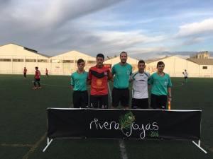 Capitanes y colegiados del Alcalá - Valdepeñas   CD Alcalá Enhoy