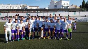 El CD Torredelcampo posó con camisetas de apoyo a sus lesionados   CD Torredelcampo