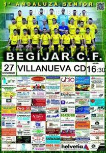 Cartel del partido | Begíjar CF