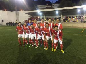 Once del Quesada ante el Mogón CF | Andrés Izquierdo
