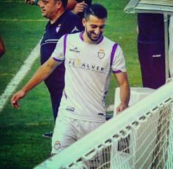 Sergio Carrascosa con el filial blanco | Villacarrillo CF
