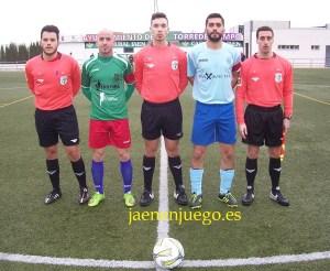Capitanes y árbitros en Torredelcampo | Benjamín Alguacil / Jaén en Juego
