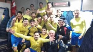 El Navas celebró su gran victoria | J. Torres.