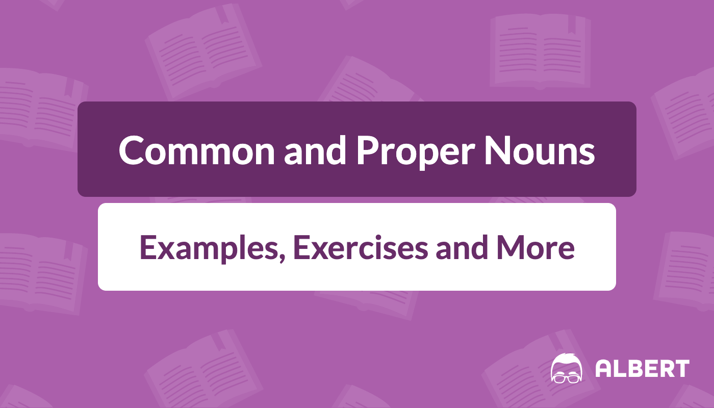 Common And Proper Nouns Definition Examples Amp Exercises