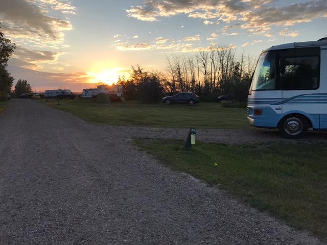 Camping at Buffalo Lake
