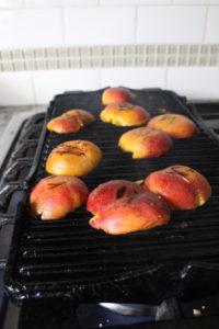 Grillin peaches