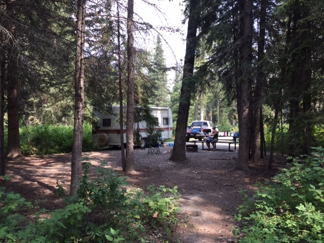 Camping at Red Lodge Provincial Park