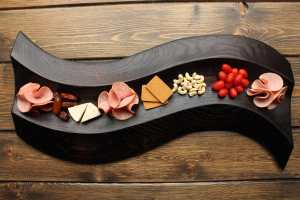 healthy holiday board