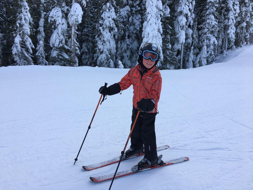Nakiska is a very family friendly place to ski in Alberta
