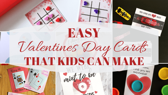 10 Easy Valentines Day Cards That Kids Can Make