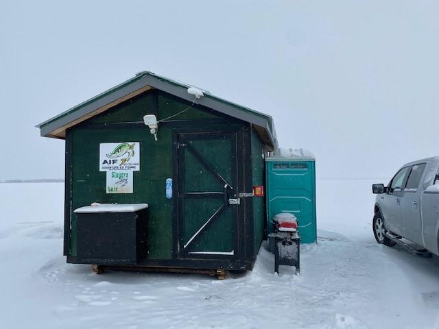 Ice Fishing Gull Lake