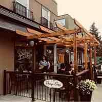 exterior of dairy lane cafe