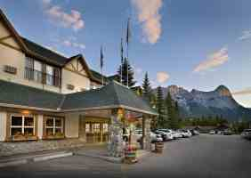 coast canmore hotel entrance