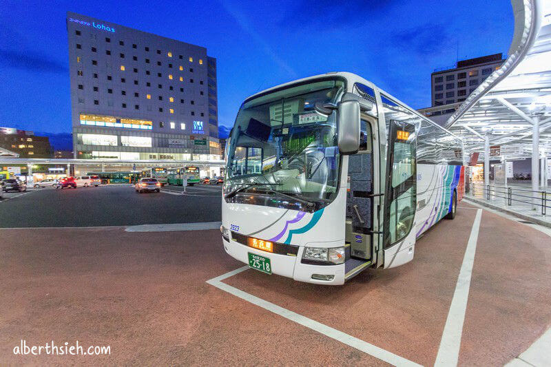 高速巴士Meitetsu bus