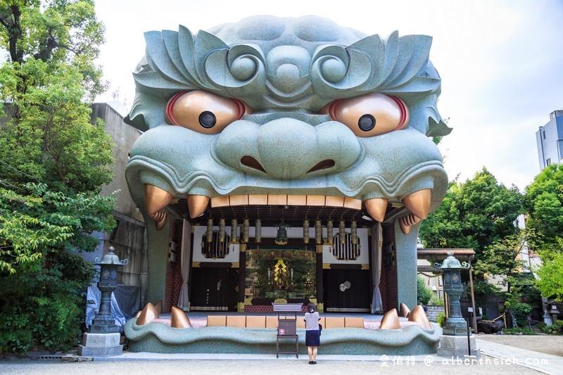 難波八阪神社.大阪景點