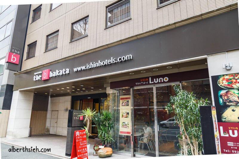 福岡住宿.the b Hakata