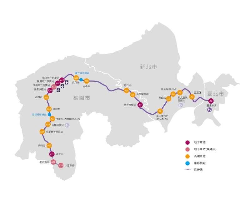 桃園機場捷運搭乘資訊轉乘北捷台鐵高鐵懶人包