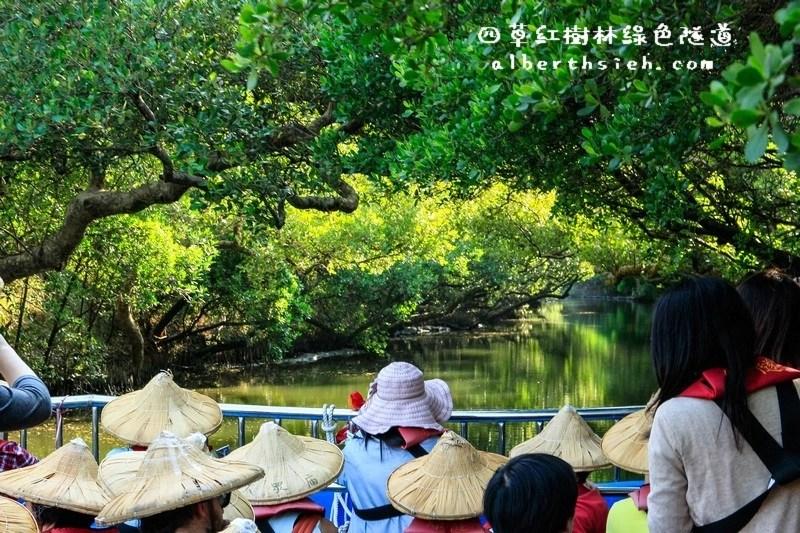 台南安南景點.四草紅樹林綠色隧道(海上森林台灣亞馬遜河)