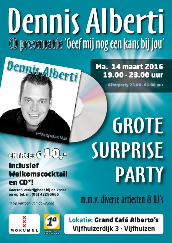 Single Release Dennis Alberti - Geef mij nog een kans bij jou