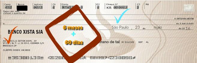 Prazo de Execução de Cheque - Prescrição - Cheque de outra praça 60 dias|Prof Alberto Bezerra