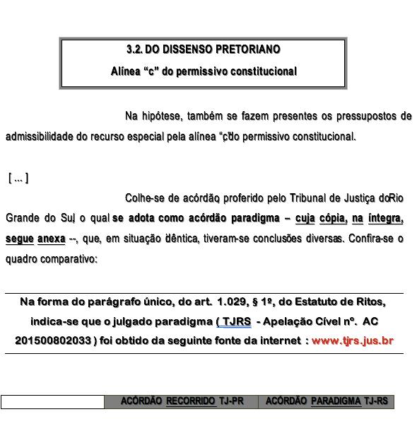1-recurso especial divergência jurisprudencial novo cpc