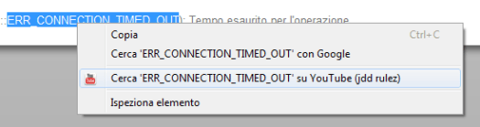 chrome context menu extension