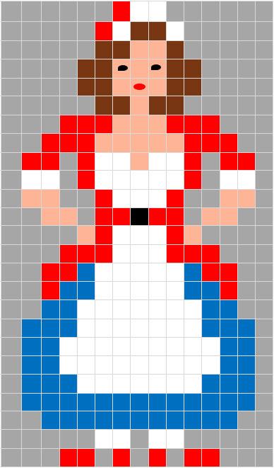 Coding Unplugged E Pixel Art La Scheda Di Carnevale Di Colombina