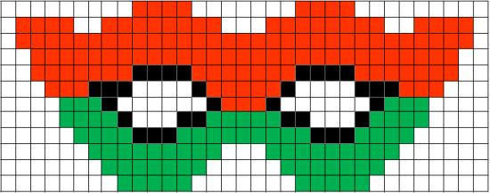 Coding Unplugged E Pixel Art La Scheda Della Maschera Di