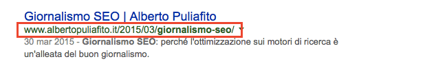 Redirect 301 sul post giornalismo SEO