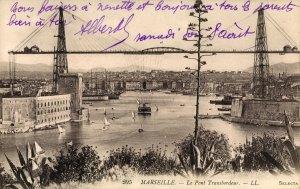 Carte Postale : Marseille - Le Pont Transbordeur