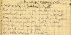 19141120-001 La compagnie retourne aux avants-postes