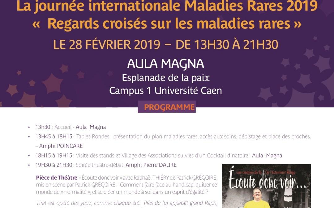 albi à Caen pour la journée internationale Maladies Rares 2019- 28 février 2019