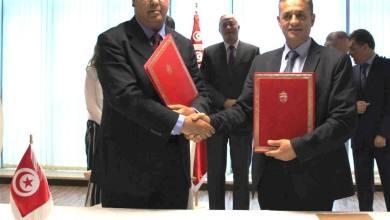 صورة إمضاء إتفاقية  شراكة  بين البريد التونسي ووزارة التربية