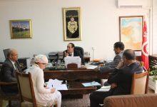 Photo of جلسة عمل حول الاستعدادات لحسن تأمين موسم الريّ الفلاحي