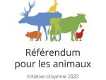 Photo of le référendum pour les animaux:  «on a un cœur pour l'humain et les animaux»