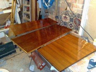 New wash boards post varnish