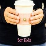 Easy Coffee Cozy Tutorial for Kids