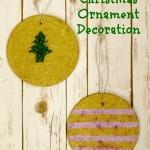 Cork Trivet Christmas Ornament Decorations