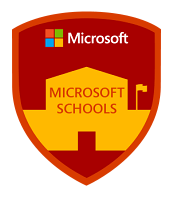 Microsoft School Badge