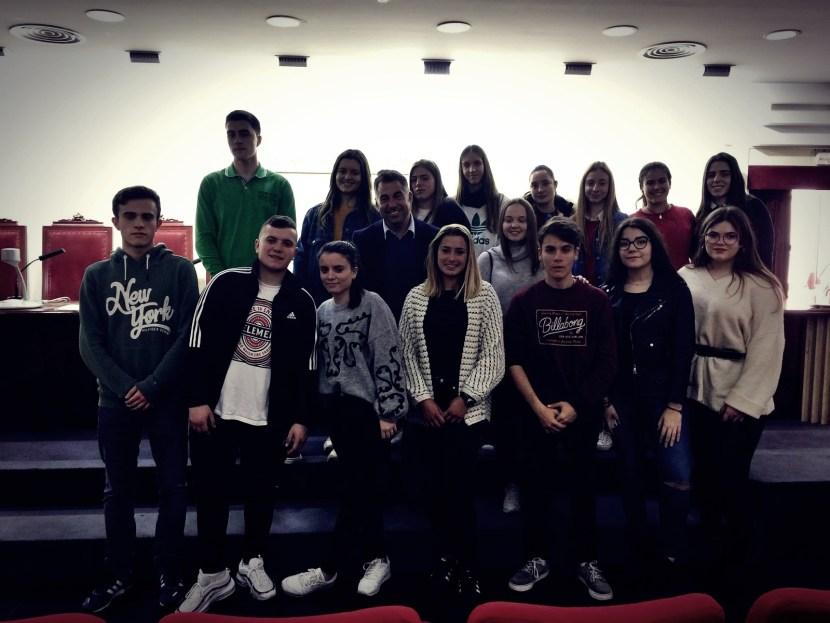 Grupo alumnos 2º Bachillerato