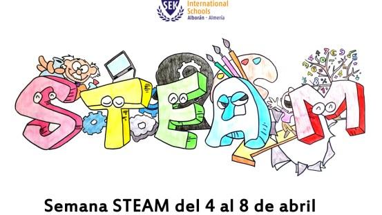 Logo I Semana STEAM SEK Alboran