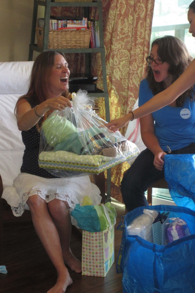 Baby Diaper Cake! We all loved that one.