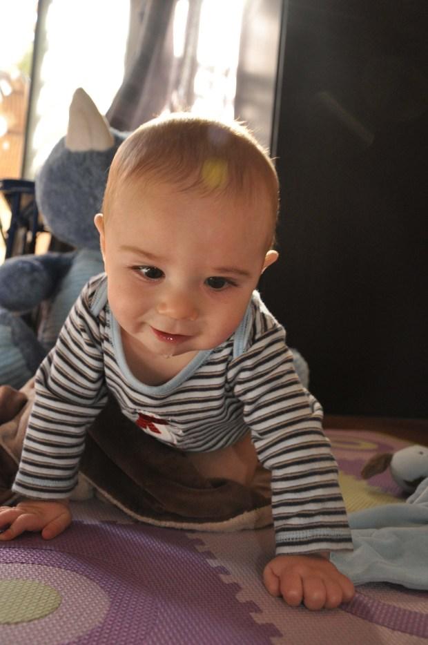 My handsome son.
