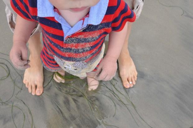 Ocean feet!