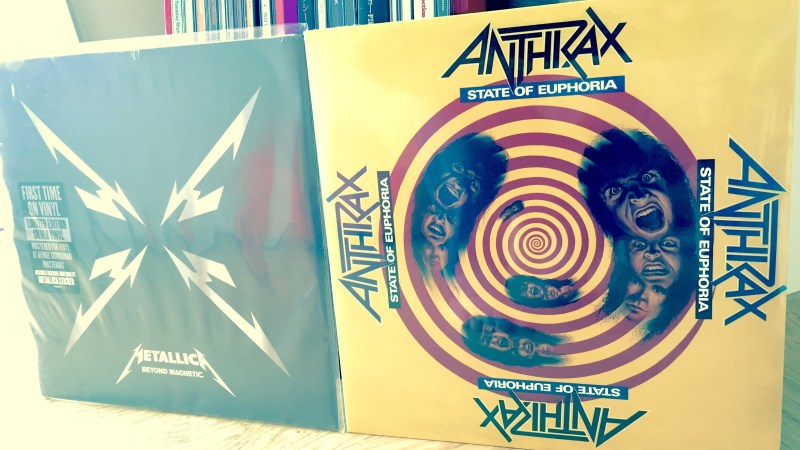 Metallica Beyond Magnetic and Anthrax State of Euphoria