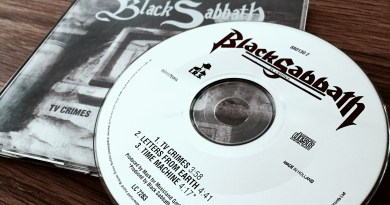 Black Sabbath - TV Crimes (CD-Single, 1992)