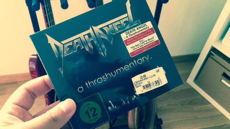 Death Angel: a thrashumentary DVD+CD