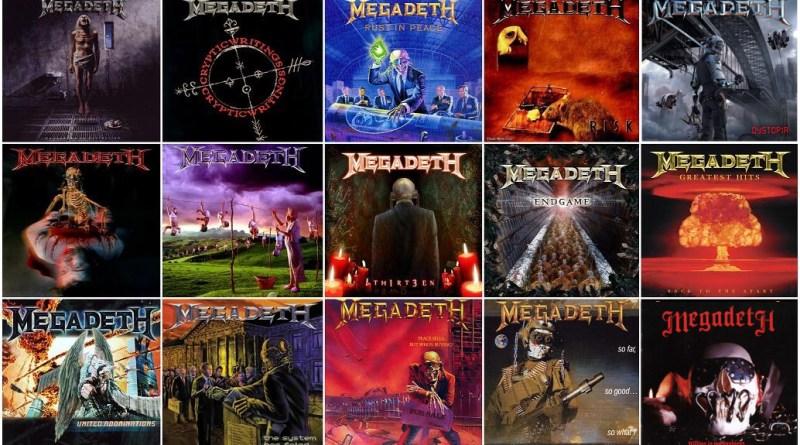 Megadeth albums ranked (1985-2016)