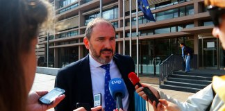 """El ex-alcalde declara como imputado en los juzgados de """"La Paloma"""""""