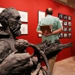 ¡Últimos dias ! Lo hice yo. Esculturas de Pedro Requejo Novoa. Autor de la escultura del Quijote en la Calle Mayor